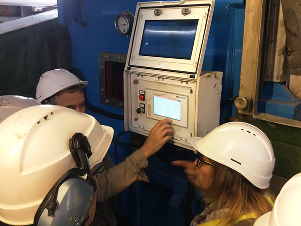 Il nostro ``Stress Box`` per il monitoraggio delle condizioni d'utilizzo dei riduttori di velocità.