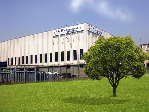 An external view of the factory in Legnano