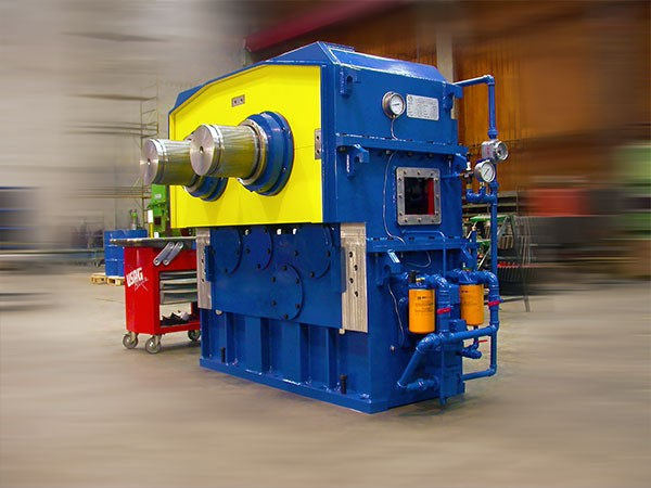 Un riduttore (490.000 Nm) realizzato da GPS Engineering per il settore alimentare.